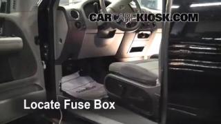interior fuse box location 2004 2008 ford f 150 2006 ford f 150 2004 2008 ford f 150 interior fuse check