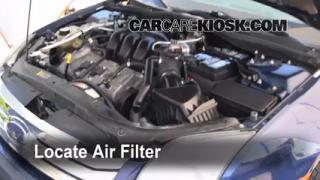 2006-2009 Ford Fusion Engine Air Filter Check
