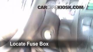 Interior Fuse Box Location: 2006-2009 Ford Fusion