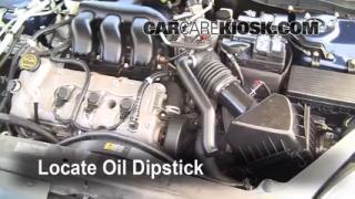 2006 Ford Fusion SE 3.0L V6 Oil Check Oil Level