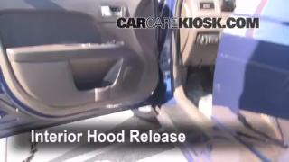 Open Hood How To 2006-2009 Ford Fusion