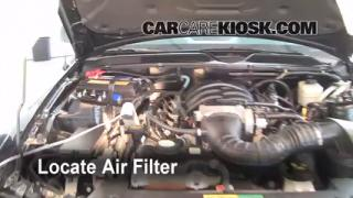 Cabin Filter Replacement: Ford Mustang 2005-2009