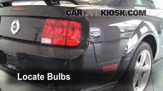 2006 Ford Mustang GT 4.6L V8 Coupe Lights Tail Light (replace bulb)