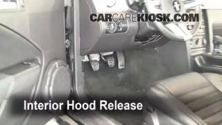 Open Hood How To 2005-2009 Ford Mustang