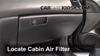 2003-2007 Honda Accord Cabin Air Filter Check