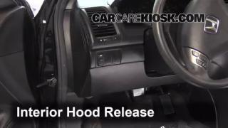 Open Hood How To 2003-2007 Honda Accord
