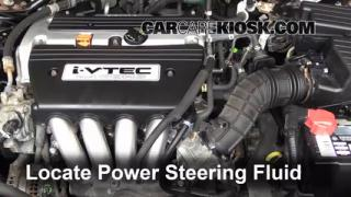 Follow These Steps to Add Power Steering Fluid to a Honda Accord (2003-2007)