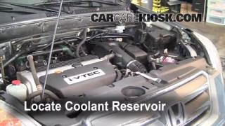 How to Add Coolant: Honda CR-V (2002-2006)