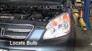 Highbeam (Brights) Change: 2002-2006 Honda CR-V
