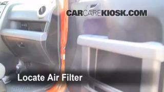 2006 Honda Element EX 2.4L 4 Cyl. Air Filter (Cabin) Replace