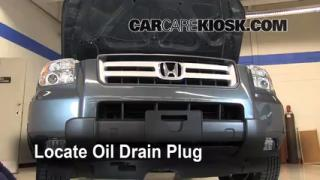 Oil & Filter Change Honda Pilot (2003-2008)