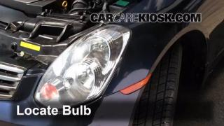 2006 Infiniti G35 X 3.5L V6 Lights Highbeam (replace bulb)