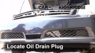 2006 Infiniti G35 X 3.5L V6 Oil Change Oil and Oil Filter