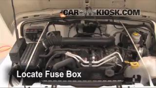 interior fuse box location 1997 2006 jeep wrangler 2006 jeep interior fuse box location 1997 2006 jeep wrangler 2006 jeep wrangler unlimited rubicon 4 0l 6 cyl