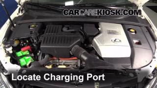 2006 Lexus RX400h 3.3L V6 Air Conditioner Recharge Freon