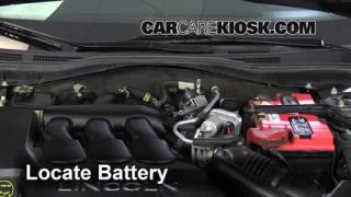 2006 Lincoln Zephyr 3.0L V6 Battery Replace
