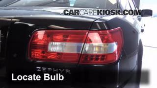 2006 Lincoln Zephyr 3.0L V6 Lights Reverse Light (replace bulb)