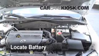 2006 Mazda 6 i 2.3L 4 Cyl. Sedan (4 Door) Battery Jumpstart