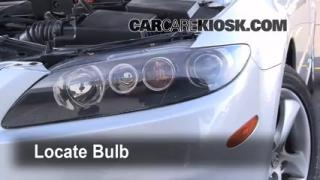 2006 Mazda 6 i 2.3L 4 Cyl. Sedan (4 Door) Lights Highbeam (replace bulb)