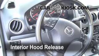 Open Hood How To 2003-2008 Mazda 6