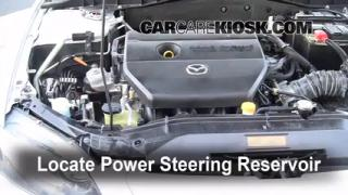 Follow These Steps to Add Power Steering Fluid to a Mazda 6 (2003-2008)
