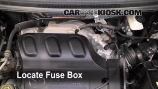 Blown Fuse Check 2000-2006 Mazda MPV