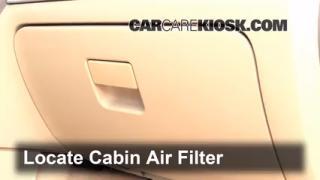 2006-2011 Mercury Milan Cabin Air Filter Check