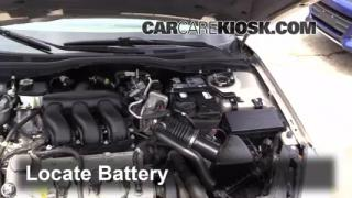 How to Clean Battery Corrosion: 2006-2011 Mercury Milan
