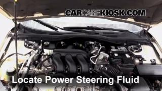 Follow These Steps to Add Power Steering Fluid to a Mercury Milan (2006-2011)