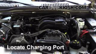 2006 Mercury Mountaineer Convenience 4.0L V6 Air Conditioner Recharge Freon