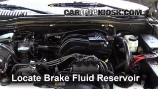 2002-2010 Mercury Mountaineer Brake Fluid Level Check