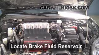 2006-2012 Mitsubishi Eclipse Brake Fluid Level Check
