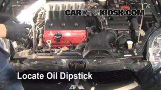 Check Oil Level 2006-2012 Mitsubishi Eclipse