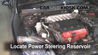 Follow These Steps to Add Power Steering Fluid to a Mitsubishi Eclipse (2006-2012)