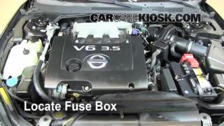 2006 Nissan Altima SE 3.5L V6 Fuse (Engine) Check