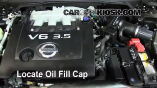 2006 Nissan Altima SE 3.5L V6 Oil Add Oil