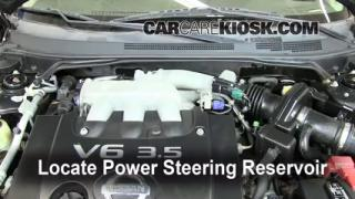 2006 Nissan Altima SE 3.5L V6 Fluid Leaks Power Steering Fluid (fix leaks)