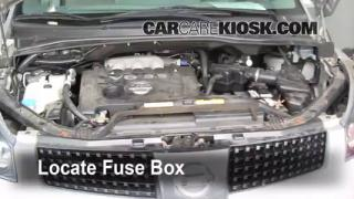 Blown Fuse Check 2004-2009 Nissan Quest