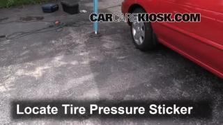 2006 Nissan Sentra S 1.8L 4 Cyl. Tires & Wheels Check Tire Pressure