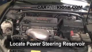 2006 Toyota Camry LE 2.4L 4 Cyl. Power Steering Fluid Add Fluid