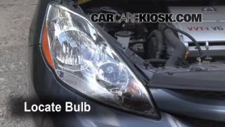 Headlight Change 2004-2010 Toyota Sienna