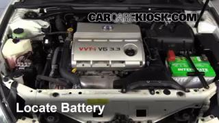 fix anti ze leaks 2004 2008 toyota solara 2006 toyota solara battery replacement 2004 2008 toyota solara