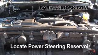 Follow These Steps to Add Power Steering Fluid to a Toyota Tundra (2000-2006)