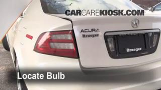 Reverse Light Replacement 2004-2008 Acura TL