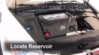 Add Windshield Washer Fluid Acura TL (2004-2008)