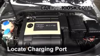2007 Audi A3 2.0L 4 Cyl. Turbo Air Conditioner Recharge Freon