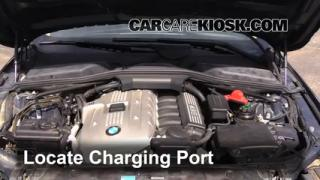 2007 BMW 525i 3.0L 6 Cyl. Air Conditioner Recharge Freon