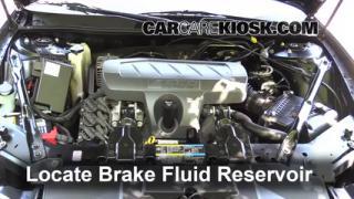 Buick Lacrosse Cxl L V Fbrake Fluid Part