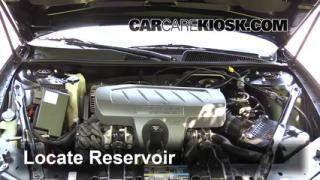 Buick Lacrosse Cxl L V Fwindshield Washer Fluid Part on 2007 Buick Lacrosse Power Steering Reservoir