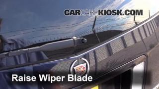 2007 Cadillac SRX 4.6L V8 Windshield Wiper Blade (Rear) Replace Wiper Blade